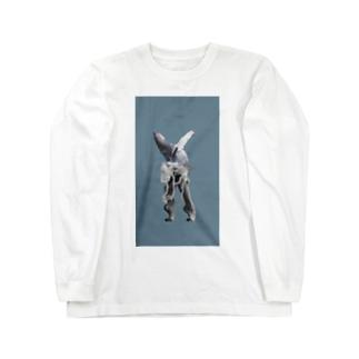 くじら Long sleeve T-shirts