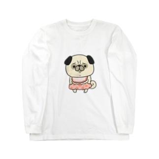ぱぐちゃん1歳 Long sleeve T-shirts