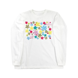 Flowers in full bloom Long sleeve T-shirts