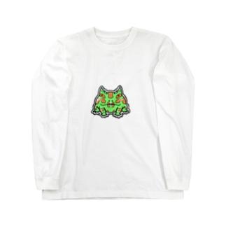 のんびりイラストグッズ Long sleeve T-shirts
