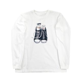 スニーカーズ Long sleeve T-shirts
