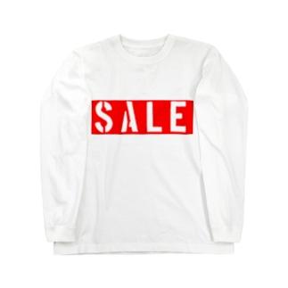 セール Long sleeve T-shirts