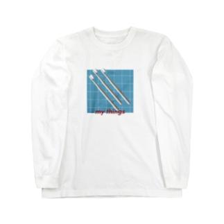 my things 001 Long sleeve T-shirts