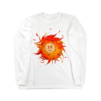 太陽系男子 Long sleeve T-shirts