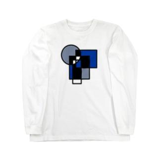 丸×四角 Long sleeve T-shirts