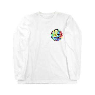 ひよこ豆を5粒 Long sleeve T-shirts