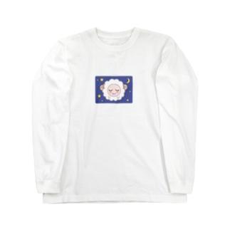 乙女ひつじ【good night】 Long sleeve T-shirts