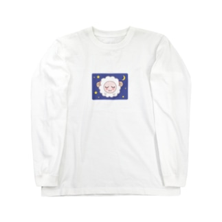 乙女ひつじ【good night】 Long sleeve T-shirts