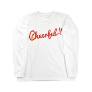 Cheerful!! Long sleeve T-shirts