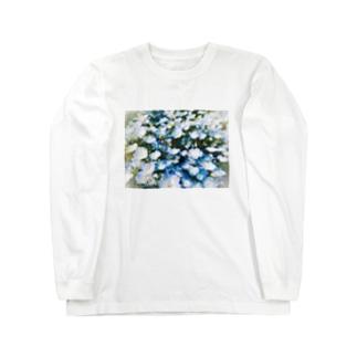 ネモフィラ Long sleeve T-shirts