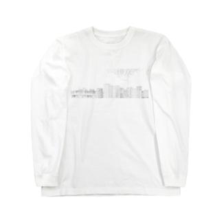 ダイコン よこなが Long sleeve T-shirts