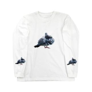 ぽっぽ2 Long sleeve T-shirts