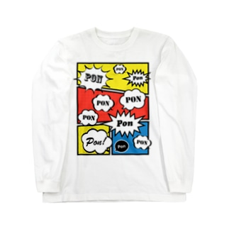 CLAIM PON Long sleeve T-shirts