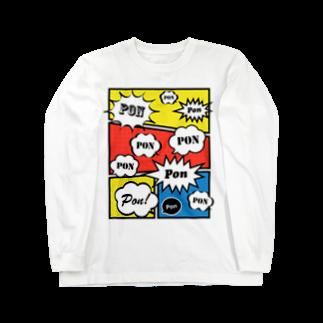 wlmのCLAIM PON Long sleeve T-shirts