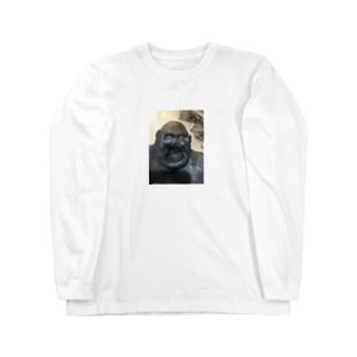 一生デカマラ宣言 Long sleeve T-shirts