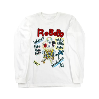 ROBOBO🤖 「たるたるロボ」 Long sleeve T-shirts