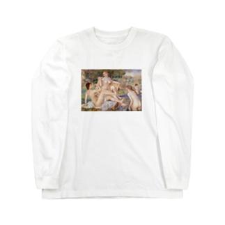大水浴図 / ルノワール Long sleeve T-shirts