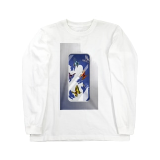 butterflies in the case Long sleeve T-shirts