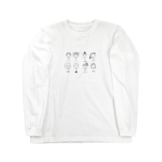 ガールズ Long sleeve T-shirts