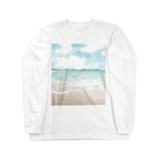 そうだ海に行こう! Long sleeve T-shirts