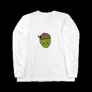 __frz5の不機嫌などんぐり Long sleeve T-shirts