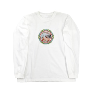 No.4 イチゴちゃん♪ Long sleeve T-shirts