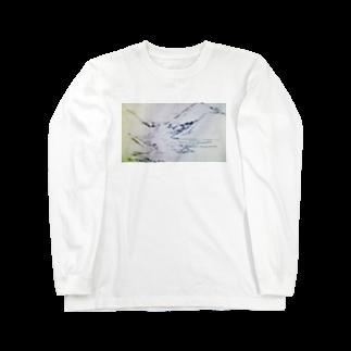 hentouの山と川 Long sleeve T-shirts