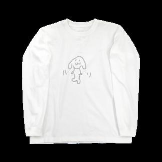 ika_chaaanの手描き某何モン Long sleeve T-shirts