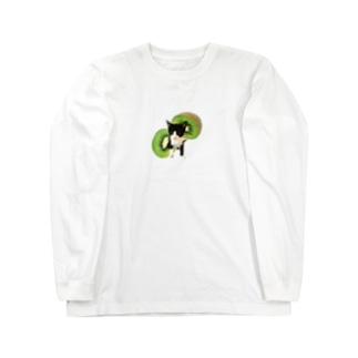 No.5 キウイくん♪ Long sleeve T-shirts