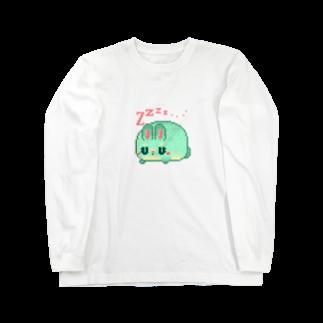 notteのスヤスヤハムスター Long sleeve T-shirts