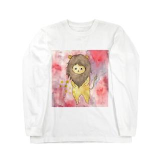 しし座のネコ Long sleeve T-shirts