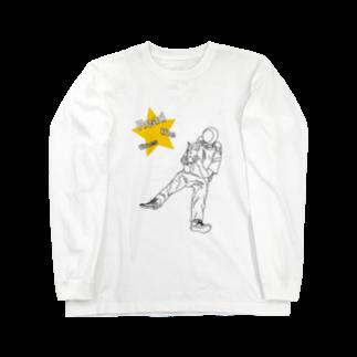 naotobrownのspace Long sleeve T-shirts