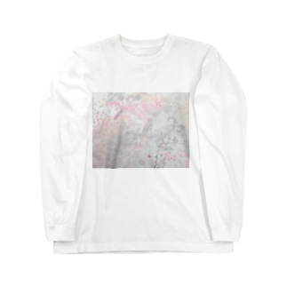スズラン Long sleeve T-shirts