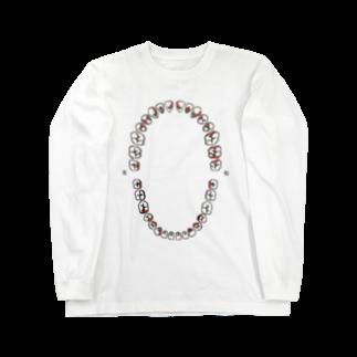 統一感を知らないの歯の磨き残し Long sleeve T-shirts