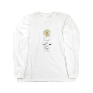 art_posca_drawingの花火ヘッド Long sleeve T-shirts