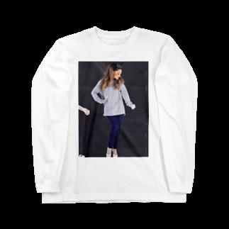 左の♡ArianaGrande♡ Long sleeve T-shirts