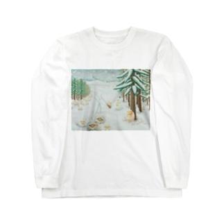 羊雪季節 Long sleeve T-shirts