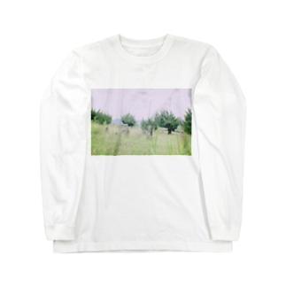 上原遺跡 Long sleeve T-shirts