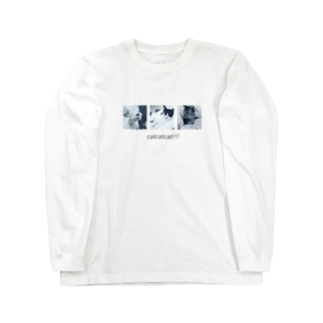 Ohaka。のcatcatcat!!! Long sleeve T-shirts