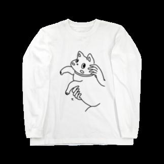スズキタカノリのNekoちゃん Long sleeve T-shirts