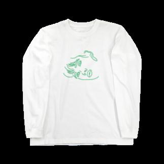aymgのface Long sleeve T-shirts