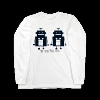 mashibuchiのくろロボットコンビ Long sleeve T-shirts
