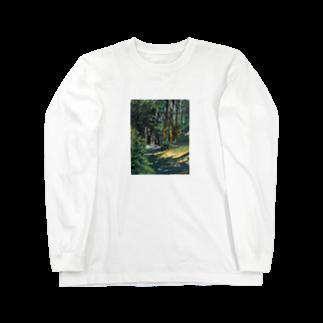 neko_3913のもり Long sleeve T-shirts