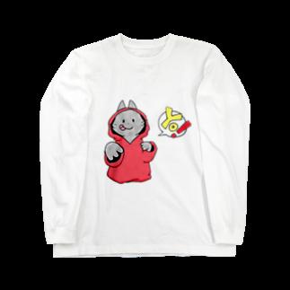 SHIMSHIMPANの猫ラッパー? Long sleeve T-shirts