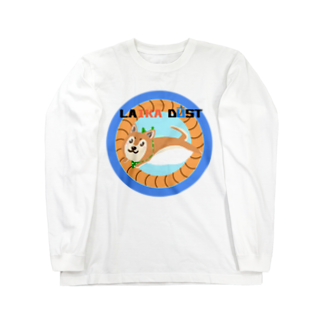 すいかのLAIKA MAMEMARU Long sleeve T-shirts