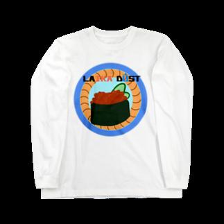 すいかのLAIKA IKURA Long sleeve T-shirts
