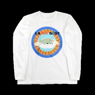 すいかのLAIKA ENGAWA Long sleeve T-shirts