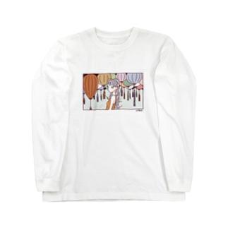 ランタン Long sleeve T-shirts