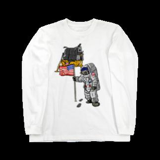 Astro(ムット)のASTRONAUT(オンリーver.) Long sleeve T-shirts