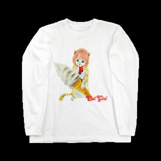 Rock catのCAT GIRL ソフトクリーム Long sleeve T-shirts